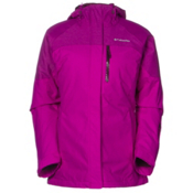 Columbia In Bounds 650 TurboDown Interchange Womens Insulated Ski Jacket, Bright Plum-Purple Dahlia, medium