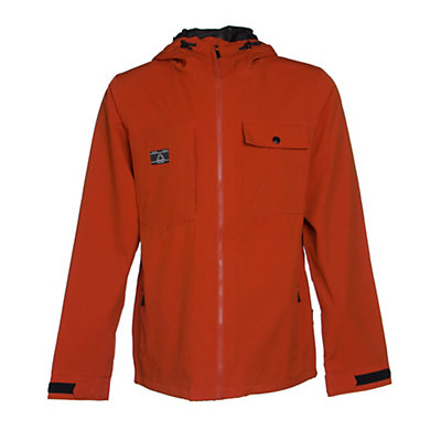 Armada Highland Mens Shell Ski Jacket, Burnt Sienna, viewer