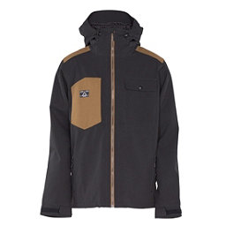Armada Highland Mens Shell Ski Jacket, Black, 256
