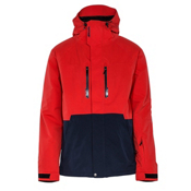 Armada Ringer Mens Insulated Ski Jacket, Red, medium