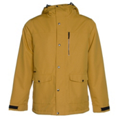 Armada Norwood Mens Insulated Ski Jacket, Mustard, medium