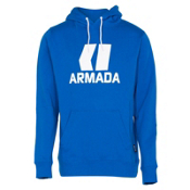 Armada Classic Pullover Mens Hoodie, Blue, medium