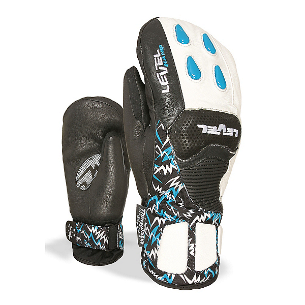 Level WorldCup CF Junior Ski Racing Mittens, Royal, 600