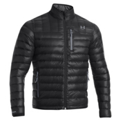 Under Armour ColdGear Infrared Turing Jacket, Black-Steel, medium