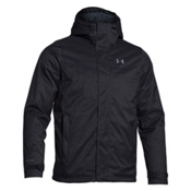 Under Armour ColdGear Infrared Boreal Mens Insulated Ski Jacket, Black-Steel, medium