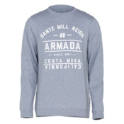 Armada Meta Crew Sweatshirt, Heather, medium