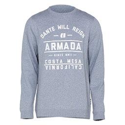 Armada Meta Crew Mens Sweatshirt, Heather, 256