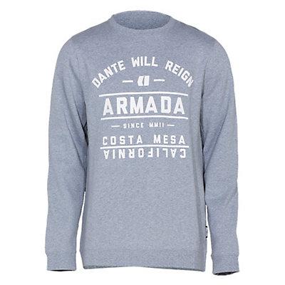 Armada Meta Crew Sweatshirt, Heather, viewer