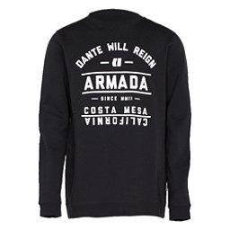Armada Meta Crew Mens Sweatshirt, Black, 256