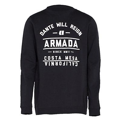 Armada Meta Crew Mens Sweatshirt, Heather, viewer