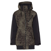 Armada Gypsum Womens Hoodie Jacket, Jungle Cat, medium