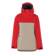Armada Abbey Womens Insulated Ski Jacket, Khaki, medium