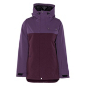 Armada Abbey Womens Insulated Ski Jacket, Bordeaux, medium