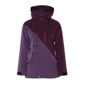 Armada Stadium Womens Insulated Ski Jacket, Plum, medium