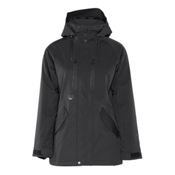 Armada Stadium Womens Insulated Ski Jacket, Black Snake, medium