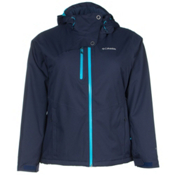 Columbia Mile Summit Plus Womens Insulated Ski Jacket, Nocternal, medium