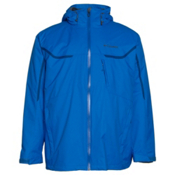 Columbia Whrilibird Interchange Big Mens Insulated Ski Jacket, Hyper Blue, medium