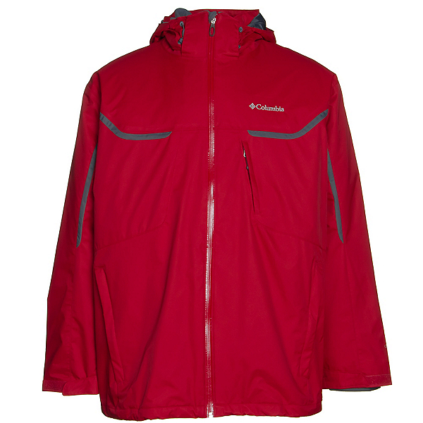Columbia Whrilibird Interchange Big Mens Insulated Ski Jacket, , 600
