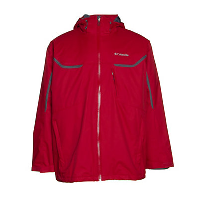 Columbia Whrilibird Interchange Big Mens Insulated Ski Jacket, , viewer