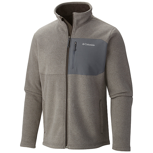 Columbia Teton Peak Mens Jacket, Buffalo-Graphite, 600