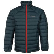 Columbia Platinum Plus 860 TurboDown Jacket, Everblue-Spicy, medium