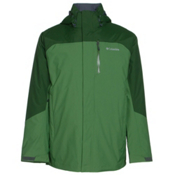 Columbia Lhotse II Interchange Big Mens Insulated Ski Jacket, Dark Backcountry-Woodland, medium