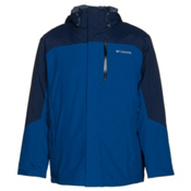 Columbia Lhotse II Interchange Big Mens Insulated Ski Jacket, Marine Blue-Collegiate Navy, medium