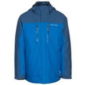 Columbia In Bounds 650 TurboDown Mens Insulated Ski Jacket, Super Blue-Marine Blue, medium