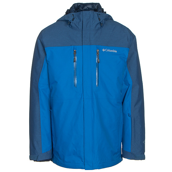 Columbia In Bounds 650 TurboDown Mens Insulated Ski Jacket, Super Blue-Marine Blue, 600