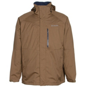 Columbia Alpine Action Big Mens Insulated Ski Jacket, Delta-Nocturnal, medium