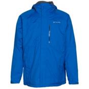 Columbia Alpine Action Big Mens Insulated Ski Jacket, Hyper Blue-Marine Blue, medium