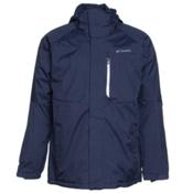 Columbia Alpine Action Big Mens Insulated Ski Jacket, Nocturnal-White, medium