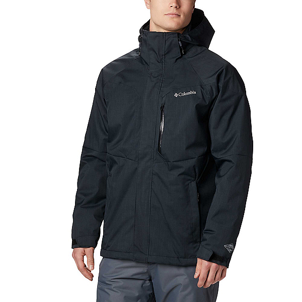Columbia Alpine Action Tall Mens Insulated Ski Jacket, Black, 600
