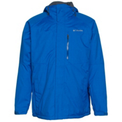 Columbia Alpine Action Tall Mens Insulated Ski Jacket, Hyper Blue-Marine Blue, medium