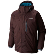 Columbia Alpine Action Tall Mens Insulated Ski Jacket, Delta-Nocturnal, medium