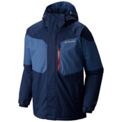 Columbia Alpine Action Tall Mens Insulated Ski Jacket, Collegiate Navy-Night Tide, medium