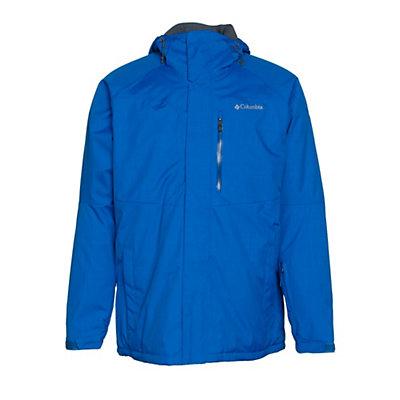 Columbia Alpine Action Tall Mens Insulated Ski Jacket, Hyper Blue-Marine Blue, viewer