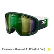 POC Fovea Goggles 2016, Incoloy Green-Persimmon Green, medium