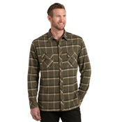 KUHL Maverik Flannel Shirt, Olive, medium