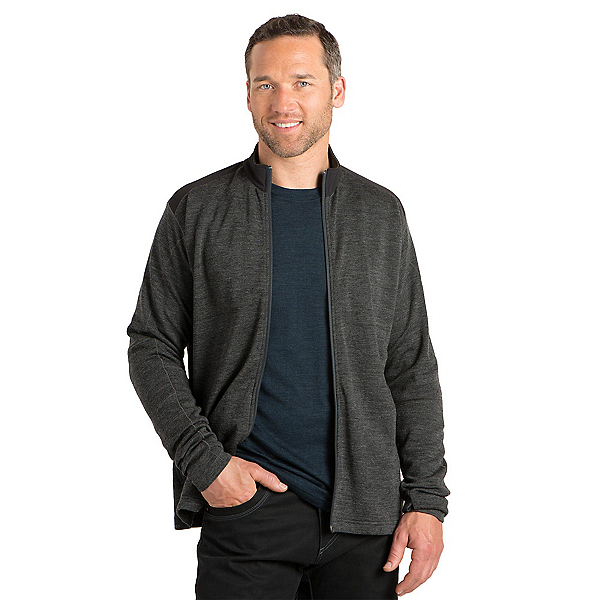 KUHL Racr X Full Zip Mens Jacket, Smoke, 600