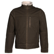 KUHL Burr Lined Mens Jacket, Brown, medium