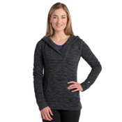KUHL Isla Hoody Womens Sweater, Raven, medium