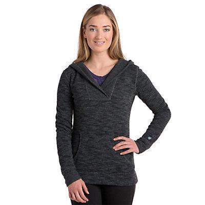 KUHL Isla Hoody Womens Sweater, Raven, viewer
