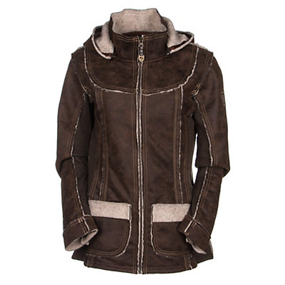 KUHL Dani Sherpa Womens Jacket, Oak, viewer
