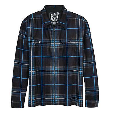 KUHL Rift Flannel Shirt, Pirate Blue, viewer