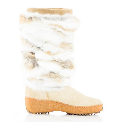 Pajar Foxy Womens Boots, Beige Leather, viewer
