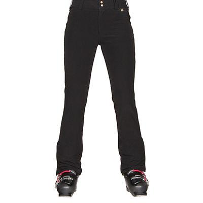 NILS Betty Short Womens Ski Pants, Black, viewer