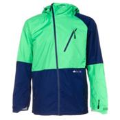 686 GLCR Hydra Thermagraph Mens Shell Snowboard Jacket, Kelly Twill, medium