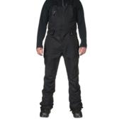 686 GLCR Supernova 3-Ply Bib Mens Snowboard Pants, Black, medium