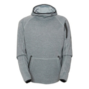 686 GLCR Exploration Tech Mens Hoodie, Grey, medium